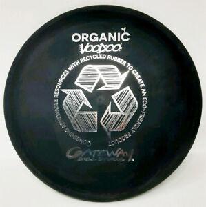 Voodoo Organic Pre-Hemp Old Run 173g Black New Gateway PRIME Disc Golf Rare
