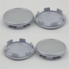 Alloy wheel center caps universal rim plastic 4x centre hubcap 59-55 mm no logo