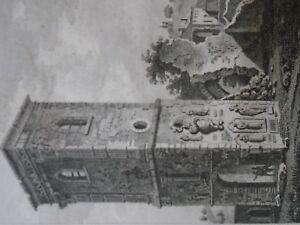 1817-1819 BAUGEAN - VUE SCARPONIA - MEURTHE - gravure voyage
