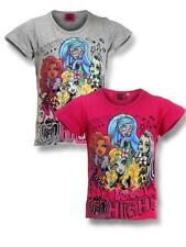 Vêtements t-shirts manches courtes pour fille de 2 à 16 ans en 100% coton