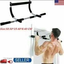 Pull Up Bar Heavy Duty Chin Exercise Doorway Fitness Multi Function Home Gym US