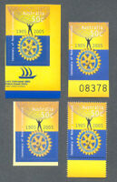 Australia-Rotary set of 4 diff issues mnh) 2005 details below