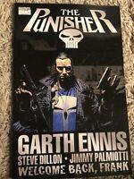 """The Punisher """"Welcome Back, Frank"""" Marvel Garth Ennis Dillon Palmiott TPB NM"""