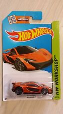 Hotwheels 2013 McLaren P1 HW workshop