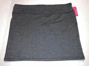 NWT Xhilaration Charcoal Stretch Mini Skirt XL