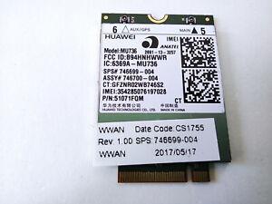 HP Elitebook 820 G3 840 G3 4G LTE WWAN Modem Card MU736 746699-004 746700-004