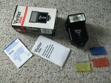 Vivitar 2800 Electronic Flash with Filters and Manuals Auto Thyristor