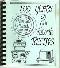 SILVER LAKE, MINNESOTA COOKBOOK - CENTENNIAL COOKBOOK - 1989 - POLISH & CZECH