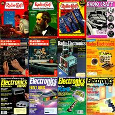 Radio Craft, Radio Electronics & Electronics Now Magazine 851 Issues on 3 DVDs