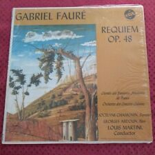 Gabriel Faure Requiem Op. 48 Vox PL 12.720 Martini Lp w/original inner sleeve