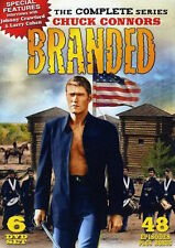 Branded Complete Series Collection DVD Set Lot Episodes TV Show Chuck Connors R1