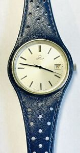 Vintage Men's Stainless Steel Omega Dynamic Automatic Wristwatch With Date