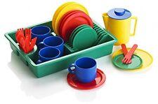 KiddyPlay 29 Piece Play Dishes Tea set Childrens/Kids Pretend Play Kitchen Toy
