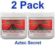 2 Pack Aztec Secret Indian Healing Clay 1 lb