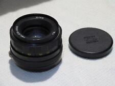 Helios 44M  2/58 Russian lens & front cap M42  mount SLR Zenit camera  8086