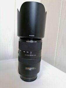 Sony Alpha SAL70300G 70-300 mm F/4.5-5.6 SSM G Objektiv mit 1Jahr Gewährlei.
