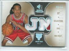 2007-08 SP Rookie Threads DUAL PRIME PATCH RELIC RC 46/50 BULLS