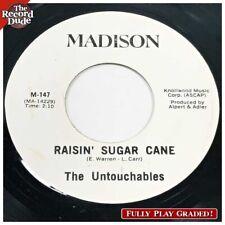 """The Untouchables """"Raisin' Sugar Cane"""" MADISON  Funk / Soul HEAR ALL! 45"""