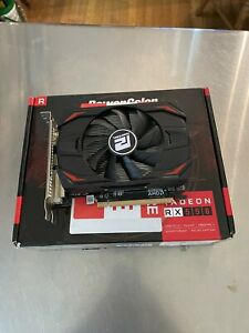 PowerColor AMD Radeon RX 550 Red Dragon Graphics Card 4GB. Not Working Parts Onl