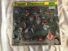 Paper Diamond - Ohrringe - 17 Modelle aus edlem Papier- Origami