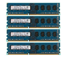 16GB RAM For Hynix 4X 4GB 2Rx8 PC3-12800 DDR3 1600MHZ 240PIN DIMM Desktop Memory