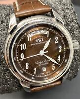 Swiss Watch International SWI 42mm Limited Edition Automatic 196/500 Alligator