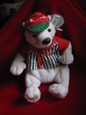 1999 - Coca Cola Polar Bear Doll Baseball Jersey Coke Bean Bag