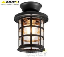 NEW MERCATOR LOUIS DIY BATTEN FIX LIGHT SHADE DARK BRONZE METAL OUTDOOR EXTERIOR
