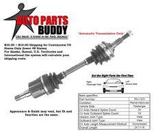 Front Right (Passenger) Side Axle (see details) GM A, J, N, X Body 2 Yr Warranty