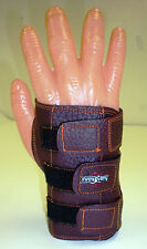 Small Medium Large Bowlers Bowling Wrister Wrist Support Brown Right Hand Glove