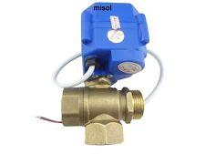 T port,3 way motorized ball valve DN20(reduce port)