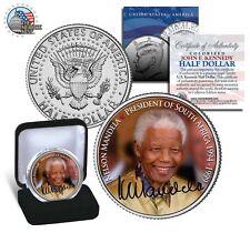 Nelson Mandela *President of South Africa ' 94 -99* JFK Half Dollar US Mint Coin