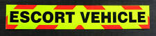 Escort Vehicle Fluorescent Magnetic Warning Sign