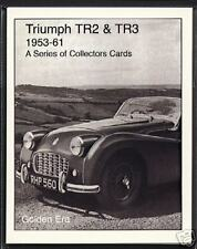 TRIUMPH TR2 & TR3 (1953-61) - Collectors Card Set - Classic British Sports car