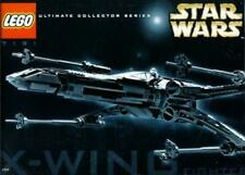 Star Wars LEGO 7191 X-Wing Fighter UCS Opened Complete Ultimate Collector Serie