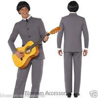 CL233 Fab Four Iconic Suit Mens 60s Beatles Celebrity Fancy Costume Outfit