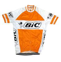 BIC RETRO VINTAGE CYCLING TEAM BIKE JERSEY - (Tour de France, Jacques Anquetil)