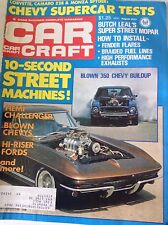 Car Craft Magazine Blown 350 Chevy Buildup August 1977 082017nonrh2