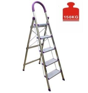 Bandeshang Aluminum Multi-Purpose Step Ladder (5 Steps)