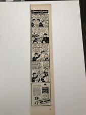 1954 Wildroot Cream-oil Hair Tonic Vintage Ad Fearless Fosdick Comic Strip Theme