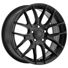 4-NEW Big Bang Sport BSP70 18x8 5x105/5x114.3 +42mm Satin Black Wheels Rims