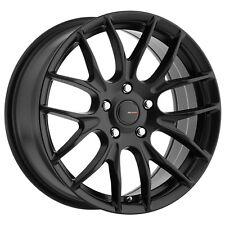 4-NEW Big Bang Sport BSP70 18x8 5x105/5x114.3 +42mm Satin Black Wheels Rims