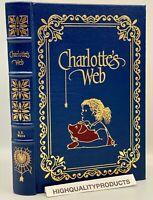 Easton Press CHARLOTTE'S WEB E.B. Wilbur White Collectors DELUXE LIMITED Edition