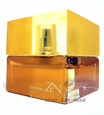 SHISEIDO ZEN PERFUME EDP GOLD BOTTLE  WOMEN 50 ML 1.7 OZ UB