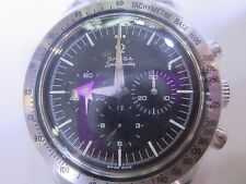 OMEGA SPEED MASTER MEN'S AUTOMATIC ALL S/S SAPPHIRE 35945000 NEW