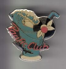 RARE PINS PIN'S .. SPORT SURF SURFING COCKTAIL PACIFIC CLUB DISCOTHEQUE 58 ~CZ