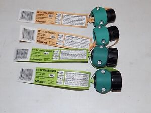 """GILMOUR 5/8"""" Garden Hose 3/4 end 2 Male and 2 female Hose End Repair Couplings."""