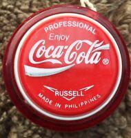 Coca Cola Russell Professional Yoyo Yo Yo Coca Cola Yo-Yo New From Box