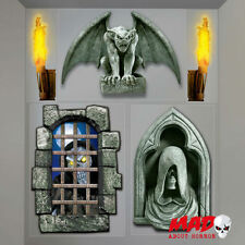Creepy donjon décoration murale-halloween pièce scène setter gargoyle effrayant