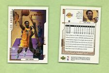 KOBE BRYANT LOS ANGELES LAKERS 2000-01 UPPER DECK  MVP BASKETBALL CARD #77